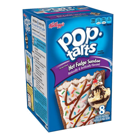 Kellogg's Hot Fudge Sundae Pop Tarts