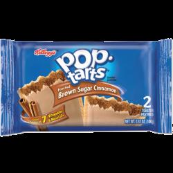Kelloggs Pop Tarts Frosted Brown Sugar Cinnamon 2pk