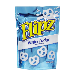 Flipz White Fudge Covered Pretzels 141g