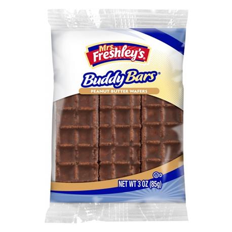 Mrs Freshley's Buddy Bar Triple Pack 85g