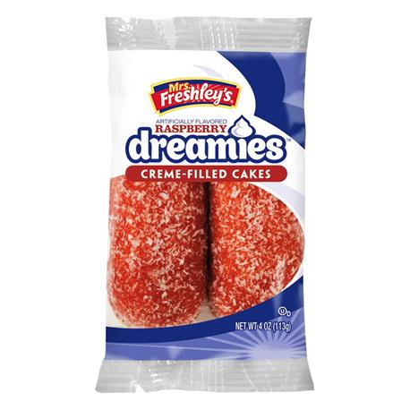 Mrs Freshley's Raspberry Dreamies 113g