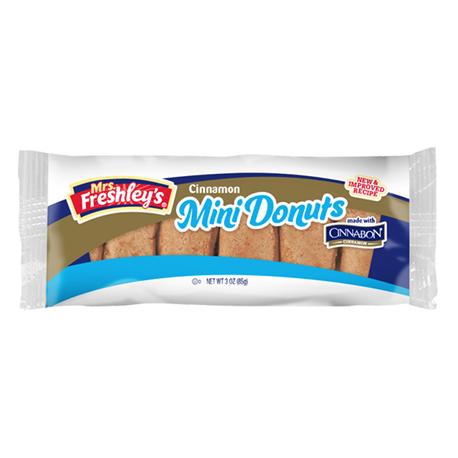 Mrs Freshley's Cinnabon Cinnamon Mini Donuts 85g