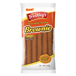 Mrs Freshley's Peanut Butter Chocolate Brownie 85g