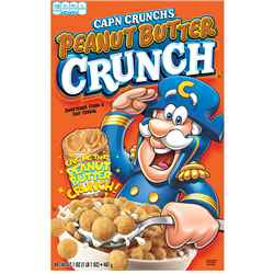 Cap'N Crunch Peanut Butter Crunch 355g