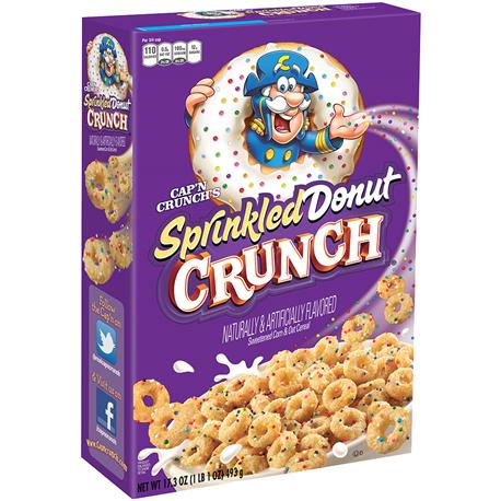 Cap'N Crunch Sprinkled Donut Crunch 353g