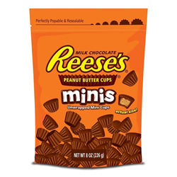 Reeses Peanut Butter Cups Minis Pouch 226g
