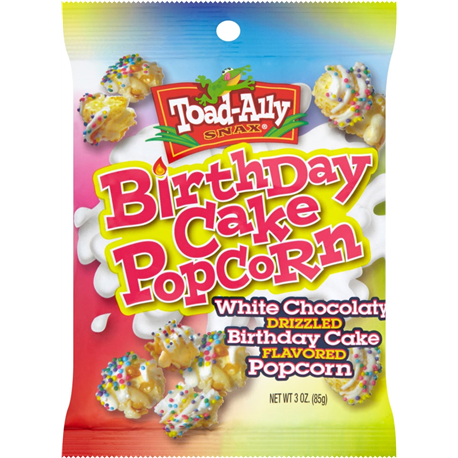 Toad-Ally Birthday Cake Popcorn 85g