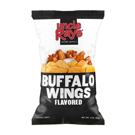 Uncle Buffalo Wing Flavour Potato Chips 127.5g