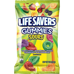 Lifesavers Gummies Sours 198g