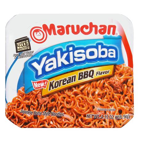 Maruchan Yakisoba Noodles Korean BBQ (116.9g)