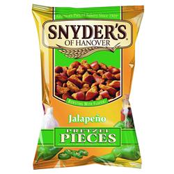 Snyders Jalapeno Pretzel Pieces (125g)