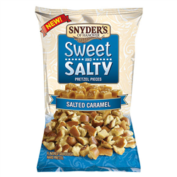 Snyders Salted Caramel Pretzel Pieces (100g)