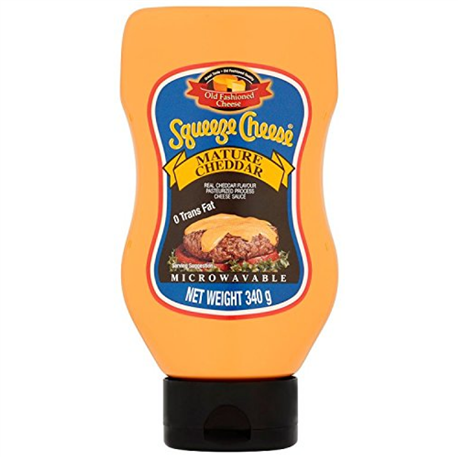 Old Fashioned Foods Squeeze Cheese (340g)