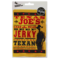 Texas Joes Lean & Mean Original Beef Jerky (25g)