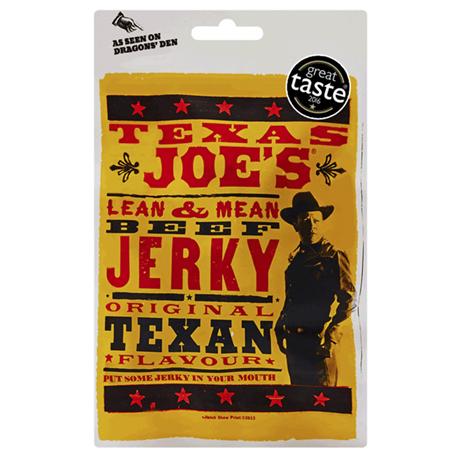 Texas Joes Lean & Mean Original Beef Jerky (25g)