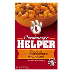 Hamburger Helper Double Cheeseburger Macaroni (170g)