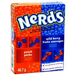 Nerds Wildberry and Peach (46.7g)