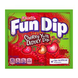 Lik-m-aid Fun Dip Cherry
