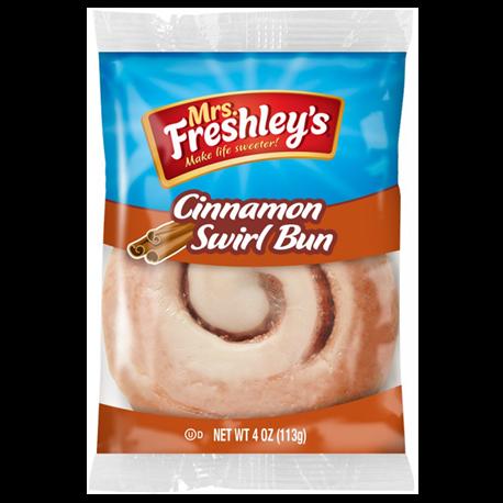 Mrs Freshley's Cinnamon Swirl Bun (113g)