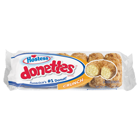 Hostess Crunch Mini Donettes 6ct (113g)