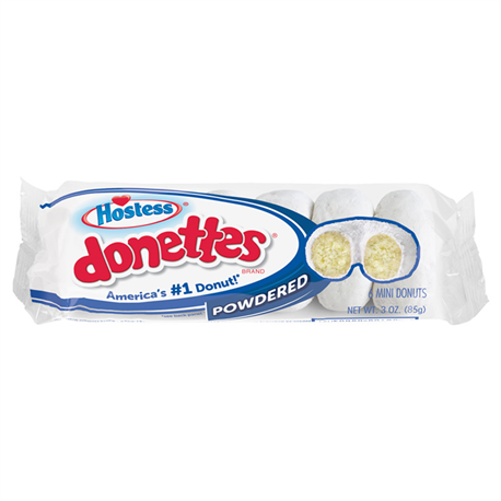 Hostess Powdered Mini Donettes 6ct (85g)
