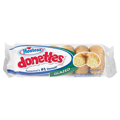 Hostess Glazed Mini Donettes 6ct (105g)