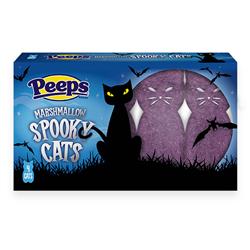 Peeps Marshmallow Spooky Cats 31g