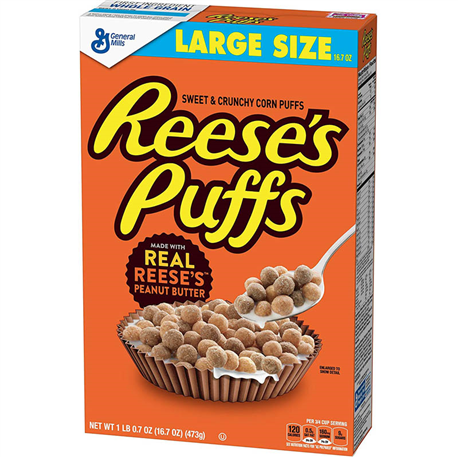 Reese's Puffs Large Size (473g)