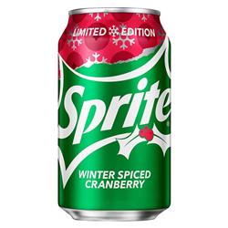 Sprite Winter Spiced Cranberry (355ml)