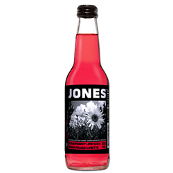 Jones Strawberry Lime Soda (355ml)
