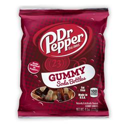 Dr Pepper Gummy Soda Bottles (127g)
