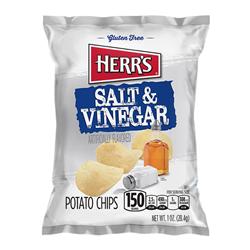 Herr's Salt & Vinegar Potato Chips (28.4g)