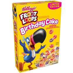 Kellogg's Froot Loops Birthday Cake (286g)