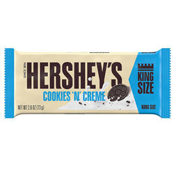 Hershey's King Size Cookies 'n' Creme Bar (73g)
