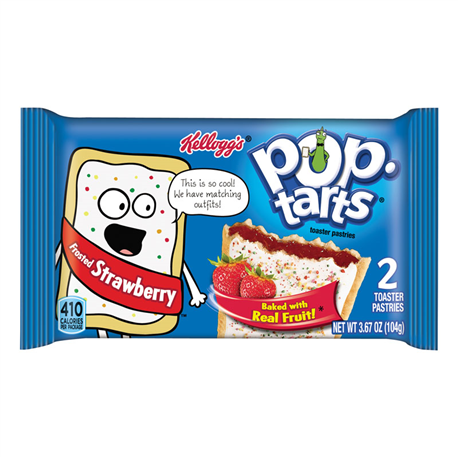 Kelloggs Pop Tarts Frosted Strawberry (96g)