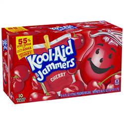 Kool-Aid Jammers Cherry (177ml/10ct)