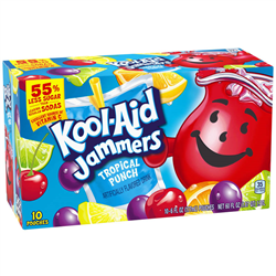 Kool-Aid Jammers Tropical Punch (177ml/10ct)