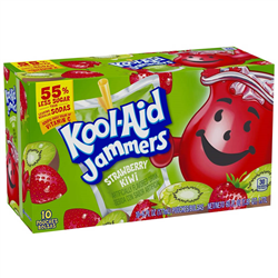 Kool-Aid Jammers Strawberry Kiwi (177ml/10ct)