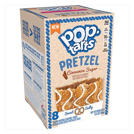 Kelloggs Pop Tarts Pretzel Cinnamon Sugar (384g)