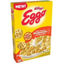 Kellogg's Eggo Maple Homestyle Waffle Cereal (249g)