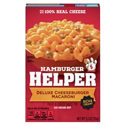 Hamburger Helper Deluxe Cheeseburger Macaroni (170g)