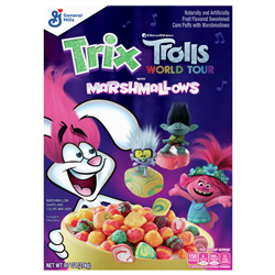 Trix Trolls Cereal with Marshmallows (274g)