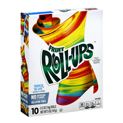 Fruit Roll-ups Tropical Tye-Dye (141g)