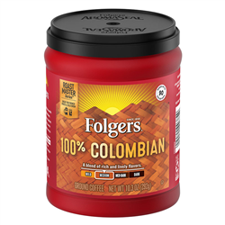 Folgers Coffee 100% Columbian (292g)