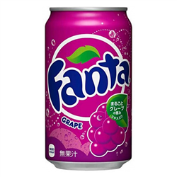 Fanta Grape Can 350ml