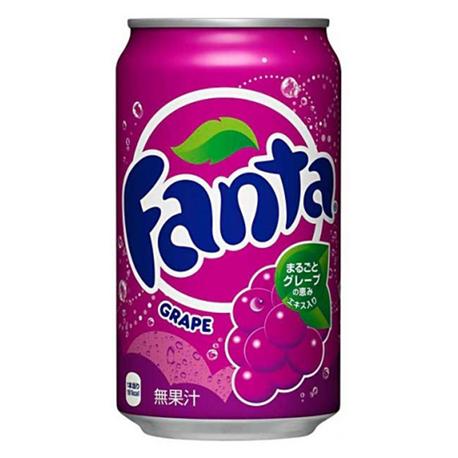 Fanta Grape Can 350ml