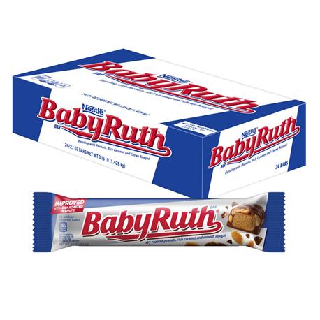 Baby Ruth Bar 24ct (53.8g)