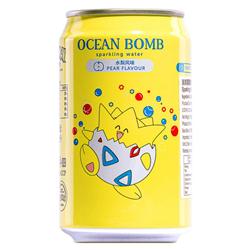 Ocean Bomb Pokemon Topegi Pear Flavour Sparkling Water (330ml)