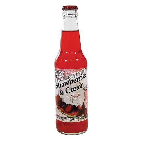 Melba's Fixins Strawberries & Cream Soda (355ml)