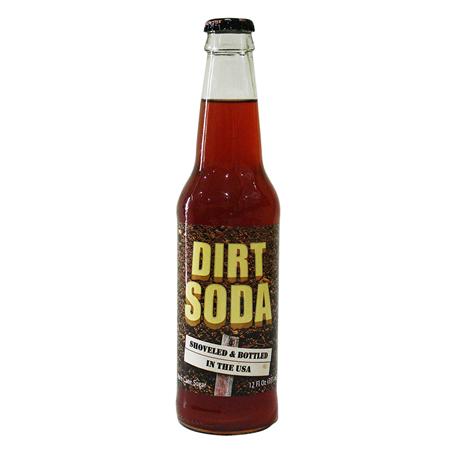 Rocket Fizz Dirt Soda (355ml)